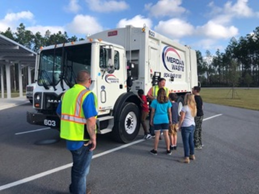 Show and Tell with Meridian Waste, Yulee, FL