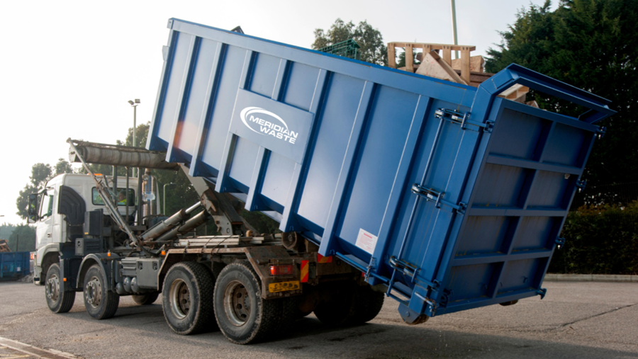 MERIDIAN WASTE ACQUIRES ROLL OFF ASSETS OF RAPID RESPONSE, INC